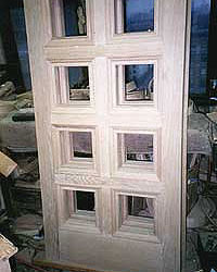 CUSTOM WHITE OAK GOTHIC DOOR
