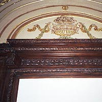 CUSTOM WOOD AND PLASTER MOLDING AFTER FINISHING FOR LANDMARK BUILDING