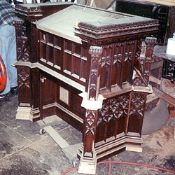 Restoration and replacement of missing elements