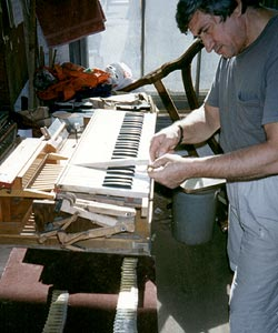 Victorian Pump Organ Restoration