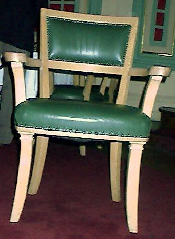 Chair after restoration